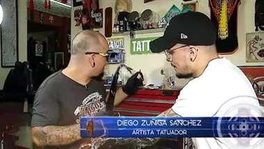 Abuelito vendió su vaca para comprarle una máquina de tatuar