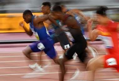 Christian Coleman ganó los 100 metros en el Mundial de atletismo en Doha | AFP