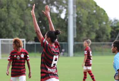 Flamengo goleó 56-0 al Greminho en fútbol femenino brasileño