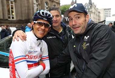 Andrey Amador durante su Mundial de Ciclismo | TOMADA DE CRCICLISMO