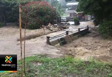 CNE atiende más de 60 incidentes en el GAM a consecuencia de las lluvias