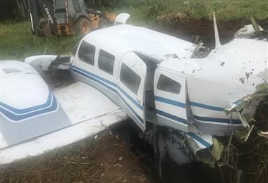 Avioneta en Palmar Sur