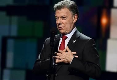 Juan Manuel Santos. BBC