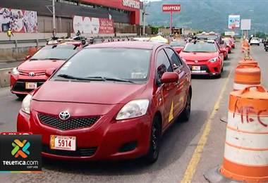 Manifestaciones de Taxistas