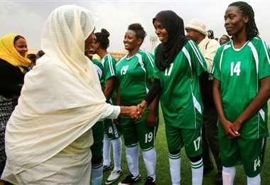 Pitido inicial para la liga femenina de fútbol en Sudán | AFP