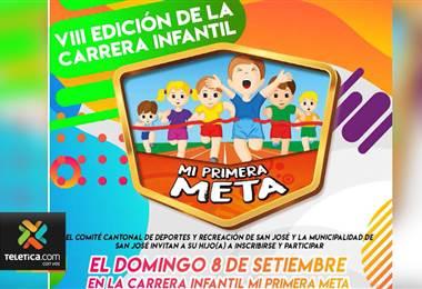 'Mi primera meta' llega a su octava edicion este domingo y se realiza como celebracion dia del niño