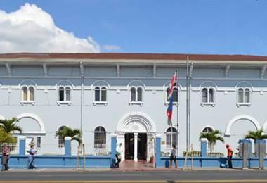 Municipalidad de Goicochea. Foto La Voz de Goichochea