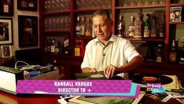 Presentador Randall Vargas es un coleccionista de discos de vinil