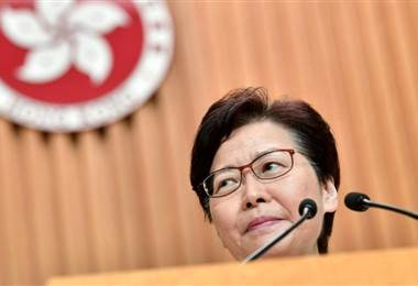 Carrie Lam. AFP