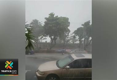 Onda tropical #31 trajo fuertes lluvias este miércoles