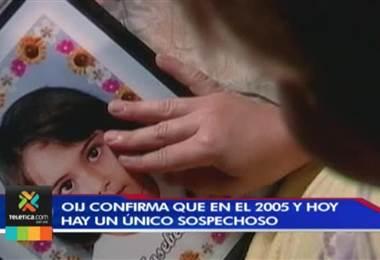 OIJ confirmó que por el crimen de la niña Josebeth Retana existe un sospechoso individualizado