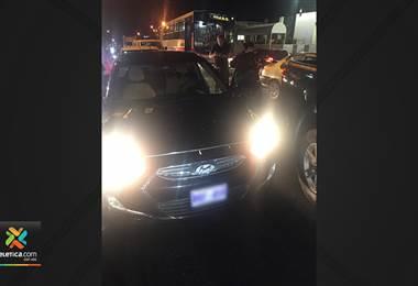 OIJ detuvo en Pavas a dos sujetos que robaron un carro en Heredia