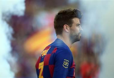 El defensor del FC Barcelona, Gerard Piqué |AFP.