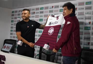Saprissa presentó oficialmente a David Ramírez como nuevo refuerzo |Deportivo Saprissa.