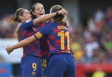 Barcelona fútbol femenino