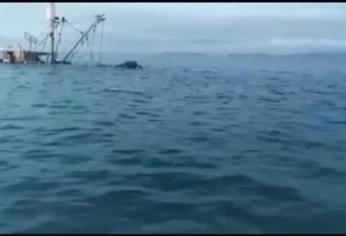 VIDEO: Otro barco se hunde frente a las costas de Puntarenas