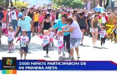 2.500 niños participaron de la carrera 'Mi Primera Meta'
