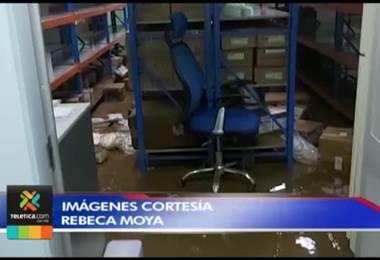 Lluvias provocaron pérdida total de medicamentos y vacunas en Área de Salud de Golfito