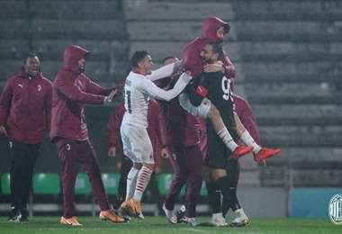 Facebook AC Milan.