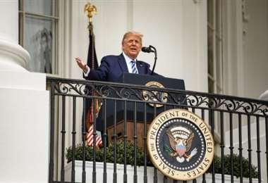 Donald Trumo en la Casa Blanca
