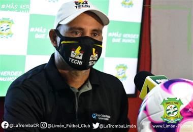 Luis Fernando Fallas | Prensa Limón FC.