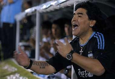 Diego Maradona | AFP.