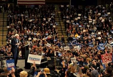 Bernie Sanders. AFP