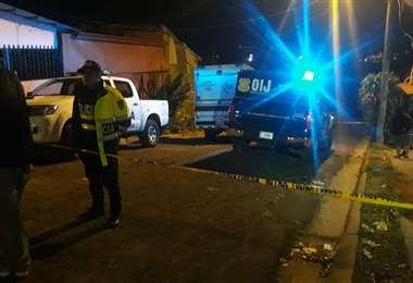 Taxista asesinado Los Cuadros. Imagen Josué Romero