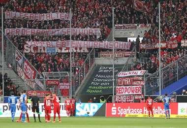 Bayern Múnich-Hoffenheim. AFP