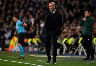 Zidane. AFP