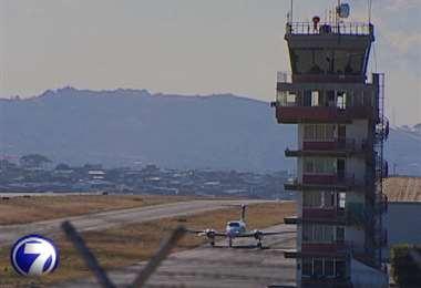 Aeropuerto Tobías Bolaños. Imagen de archivo.