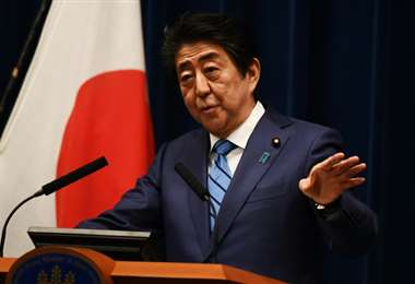 Shinzo Abe. AFP