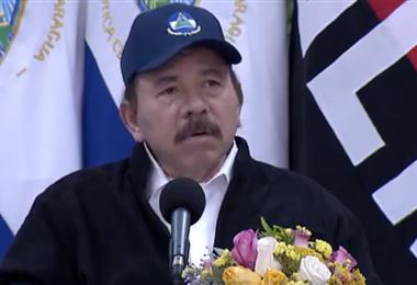 Daniel Ortega. Captura de pantalla