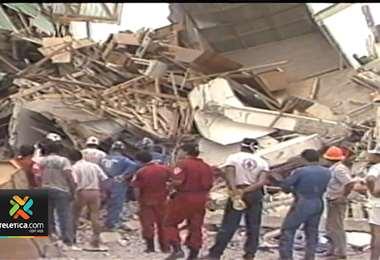 cumplen 29 años del terremoto de Limón que dejó 48 muertos y destruyó más de 4.400 casas