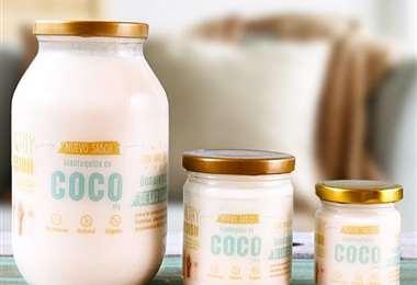 Mantequilla de coco 100% natural