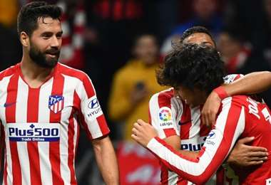 Atlético de Madrid. AFP