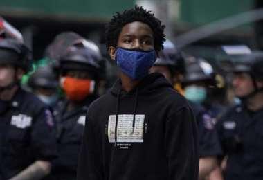 Protestas en Estados Unidos. AFP