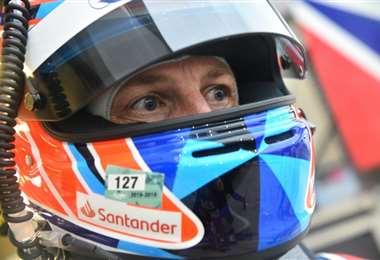 Jenson Button. AFP