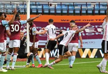 Aston Villa-Sheffield United. AFP