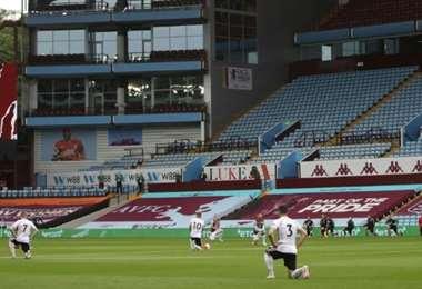 Aston Villa. AFP