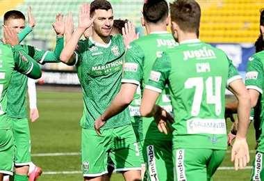 FK Karpaty Lviv. AFP