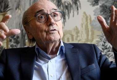 Joseph Blatter. AFP
