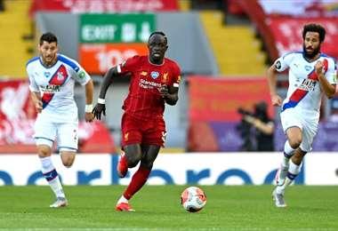 Saido Mane. Liverpool Facebook