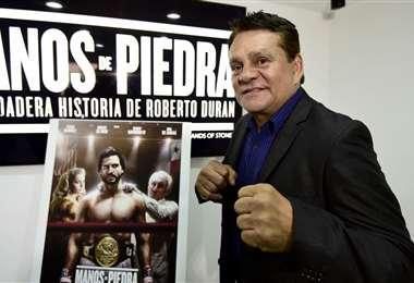 Roberto 'Manos de Piedra' Durán | AFP.