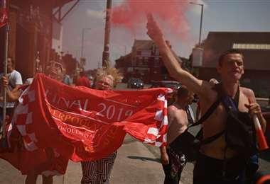 Aficionados del Liverpool | AFP.