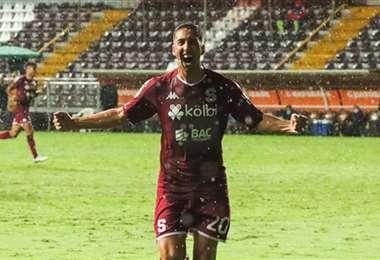 Mariano Torres. Twitter Saprissa
