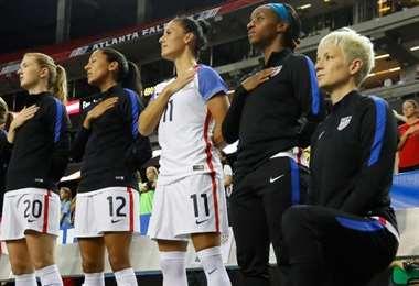 Selección de EEUU. AFP