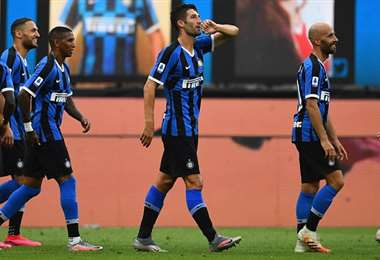 Inter de Milán. AFP