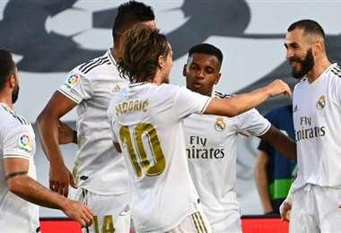 Real Madrid. AFP