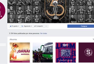 Facebook Saprissa.